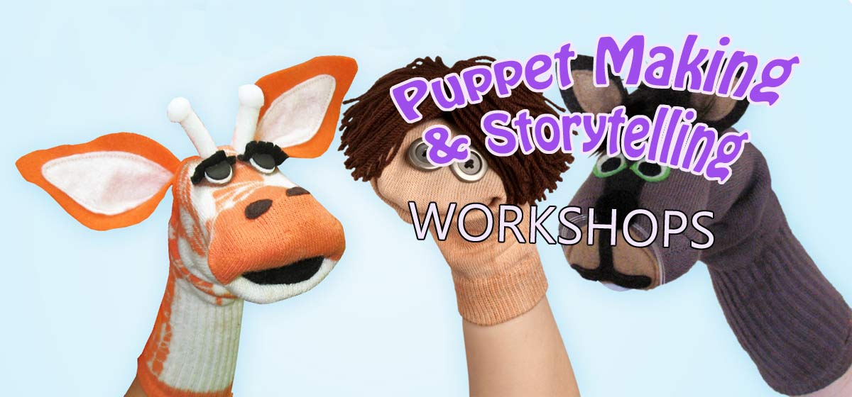 puppet making & storey telling workshops