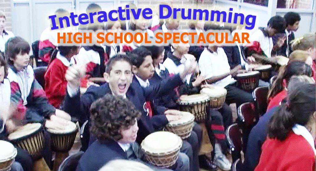 high school drumming workshop