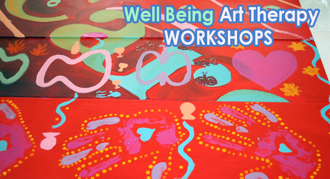 art therapy well being workshops